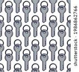 Keys Seamless Vector Wallpaper  ...