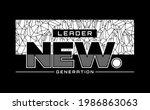 leader the new generation ... | Shutterstock .eps vector #1986863063