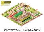 vector isometric geothermal...   Shutterstock .eps vector #1986875099