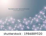 motherboard vector background...   Shutterstock .eps vector #1986889520