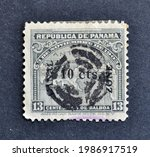 Panama   Circa 1903   Cancelled ...