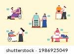 medical rehabilitation... | Shutterstock .eps vector #1986925049