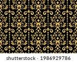floral pattern. vintage...   Shutterstock .eps vector #1986929786