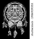 bear's head is a shamanic...   Shutterstock .eps vector #1986939353