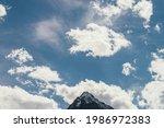 Minimalist Cloudscape With...