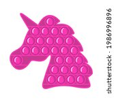 trendy antistress sensory toy... | Shutterstock .eps vector #1986996896