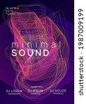 music fest. dynamic gradient...   Shutterstock .eps vector #1987009199
