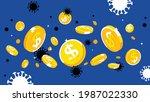 global economic crisis concept. ...   Shutterstock .eps vector #1987022330