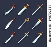 swords knives daggers sharp...