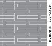 seamless   vector pattern.... | Shutterstock .eps vector #1987065269