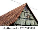 Old Half Timbered Barn....