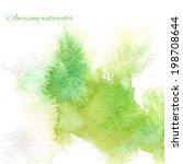 watercolor splash background... | Shutterstock .eps vector #198708644