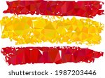 low poly spain flag constructed ...   Shutterstock .eps vector #1987203446