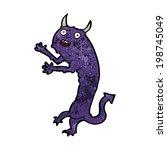 cartoon devil | Shutterstock . vector #198745049