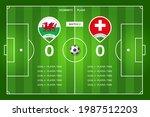 football match wales  ...   Shutterstock .eps vector #1987512203