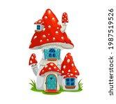 mushroom fairy house dwelling...
