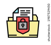 protection of intellectual... | Shutterstock .eps vector #1987529450