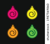 Bauble Four Color Glowing Neon...