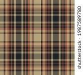 plaid pattern seamless. check...   Shutterstock .eps vector #1987589780