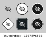 low vision icon set. collection ...   Shutterstock .eps vector #1987596596