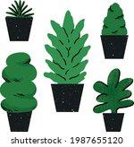 illustration set of various...   Shutterstock .eps vector #1987655120