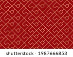 the geometric pattern with...   Shutterstock .eps vector #1987666853