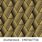 abstract geometric pattern with ...   Shutterstock .eps vector #1987667726