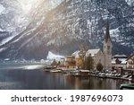 Hallstatt  Austria Dec 26 2017...