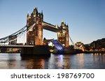 tower bridge in london  | Shutterstock . vector #198769700