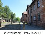 Part Of Auschwitz Concentration ...