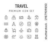 premium pack of travel line...