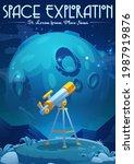 space exploration cartoon...   Shutterstock .eps vector #1987919876