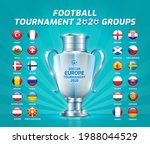 soccer championship groups and... | Shutterstock .eps vector #1988044529