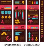 Technology Industry Infographic Elements - stock vector