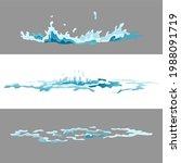 element water splashes...