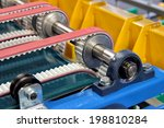 detail of an equipment fitted... | Shutterstock . vector #198810284