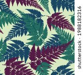 seamless decorative pattern... | Shutterstock .eps vector #1988182316