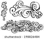 doodle swirls   Shutterstock .eps vector #198826484