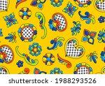 mexican talavera seamless... | Shutterstock .eps vector #1988293526
