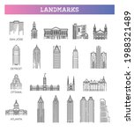 simple linear vector icon set... | Shutterstock .eps vector #1988321489