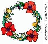Wreath Of Wildflowers.raster...