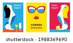 hello summer. bright...   Shutterstock .eps vector #1988369690