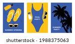 hello summer. bright...   Shutterstock .eps vector #1988375063