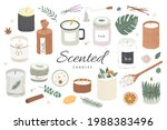 collection of modern scented... | Shutterstock .eps vector #1988383496