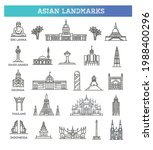 simple linear vector icon set... | Shutterstock .eps vector #1988400296