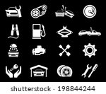 auto service icons | Shutterstock .eps vector #198844244