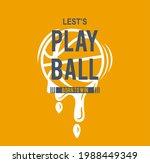 sport basket ball typography ... | Shutterstock .eps vector #1988449349