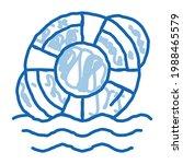 lifebuoy rescue tool sketch...   Shutterstock .eps vector #1988465579