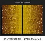 background template made golden ...   Shutterstock .eps vector #1988501726