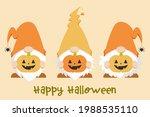 trio of cute scandinavian... | Shutterstock .eps vector #1988535110